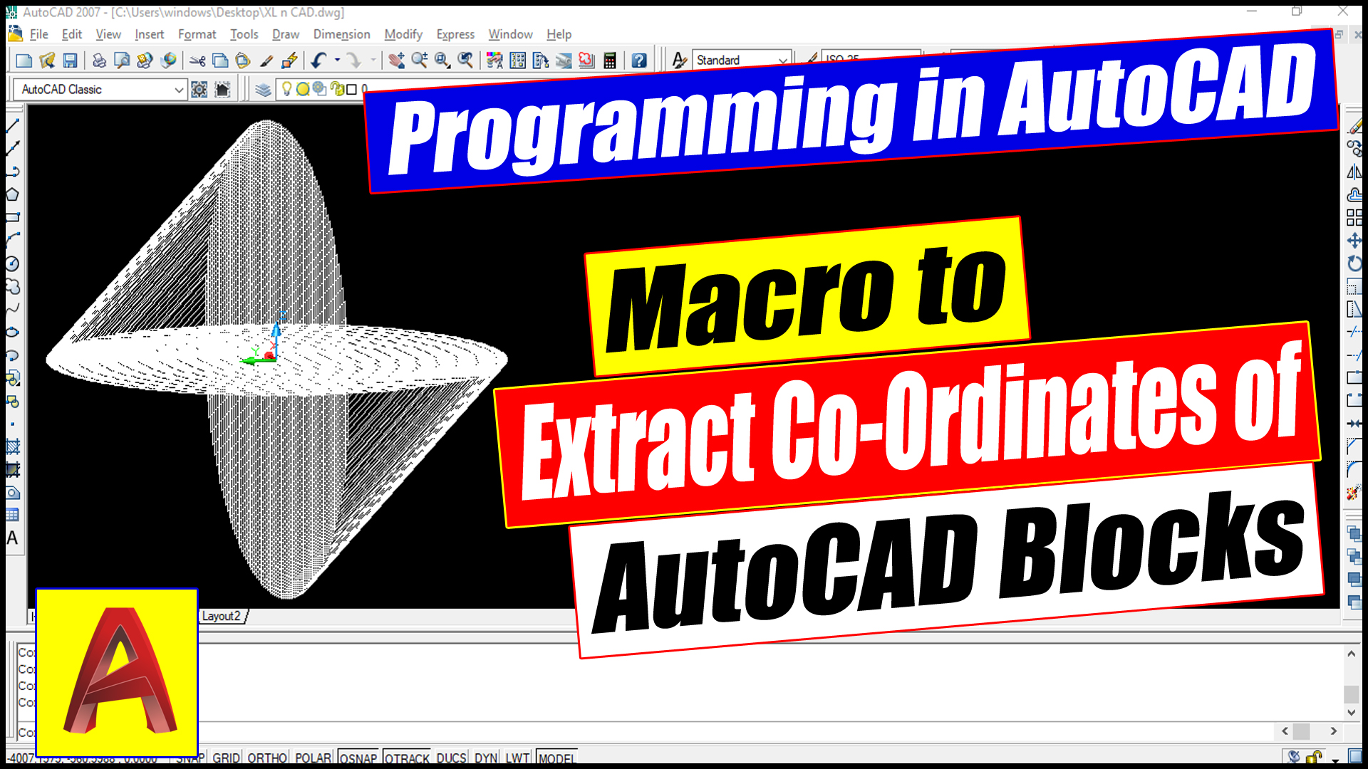 Macro for Extracting Details of AutoCAD Block