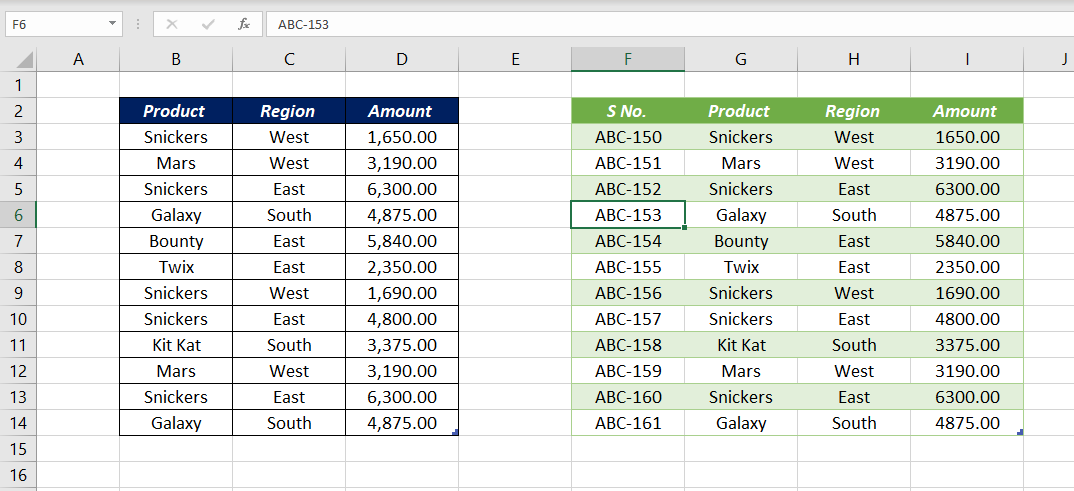 Automatically Number Rows in Excel using Power Query