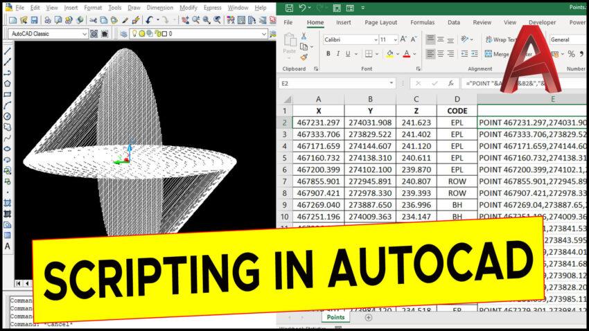 Scripting in AutoCAD