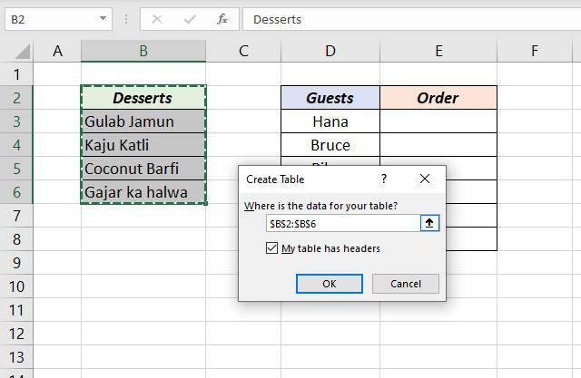 Dynamic drop-down list in Excel